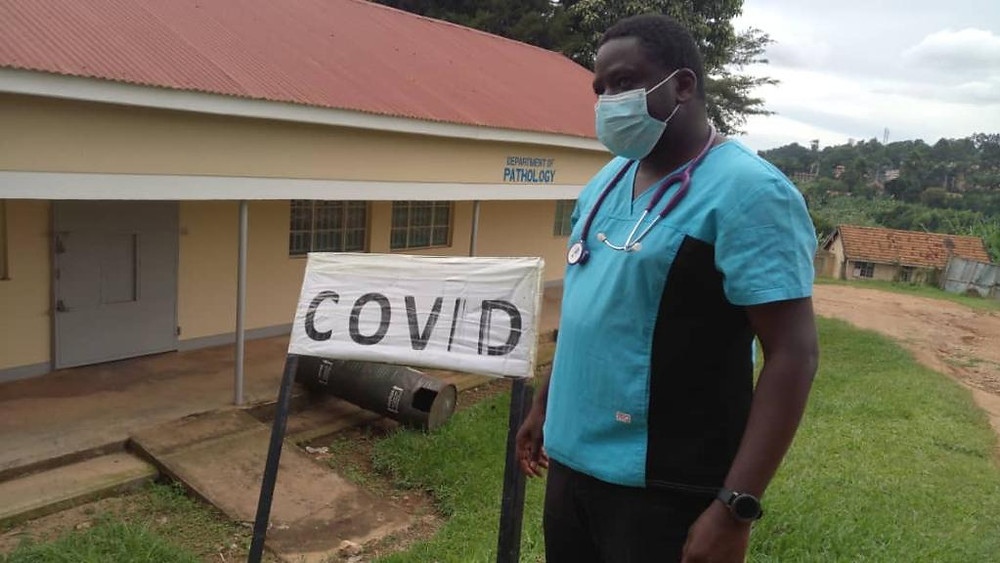 A Uganda doctor preparing Masaka Referral Hospital to cope with COVID-19 cases