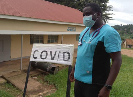 Tackling COVID-19 in Masaka: How your generosity is empowering the hospital & saving lives