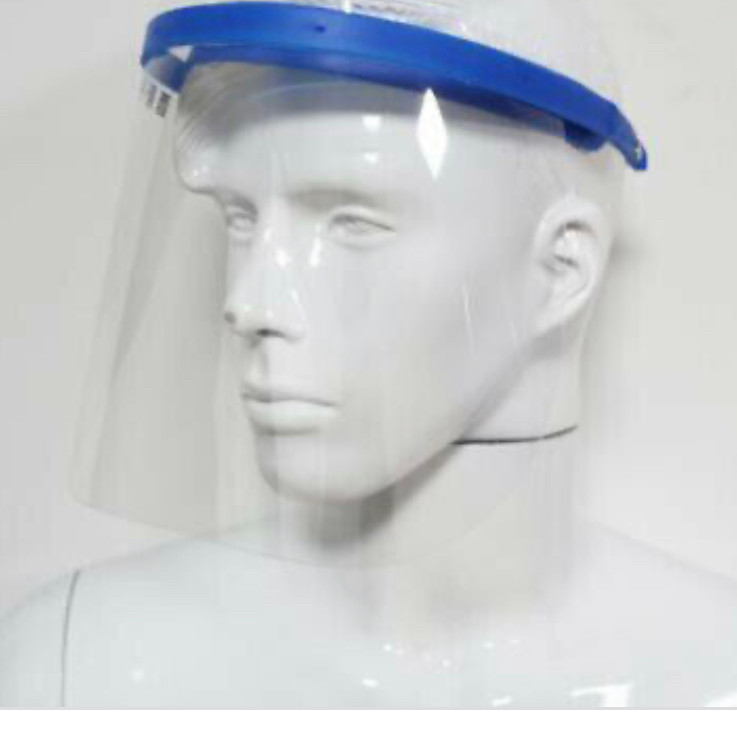 An example of the Plastic Face Shields we'll be making from recycled plastic to protect people from COVID-19