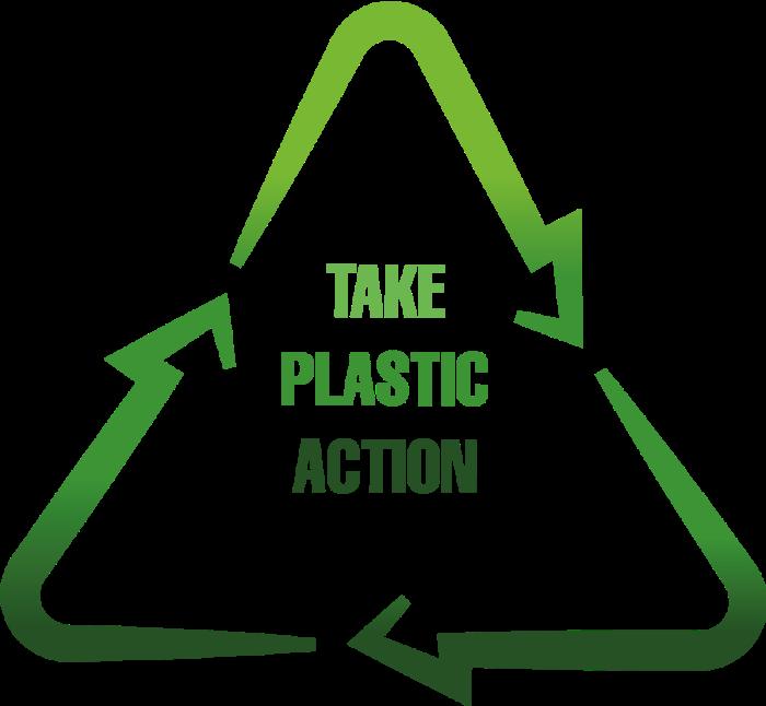plastic action logo for plastic offsetting