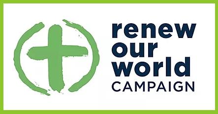 Renew Our World, Tearfund, Logo