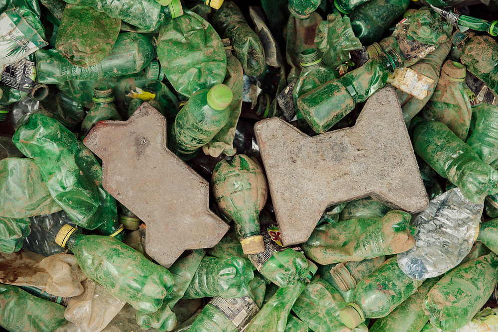 Eco Brixs bricks and pavers with plastic bottles