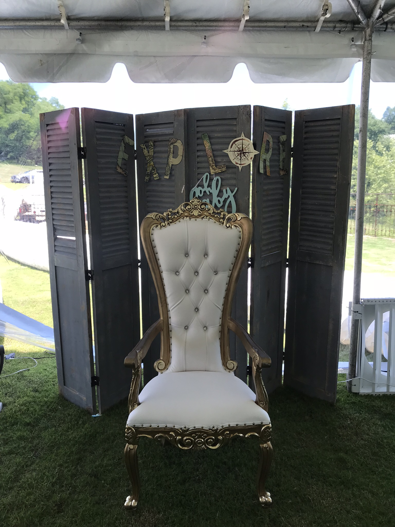 Royalty Throne Chair