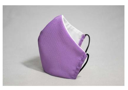 Lavender face mask
