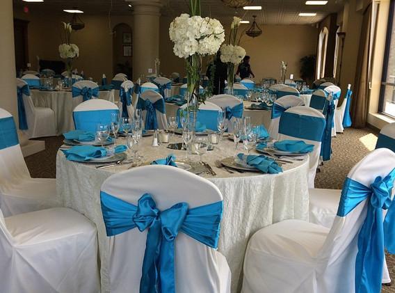 #turquoiseweddings, #beseatedchaircovers