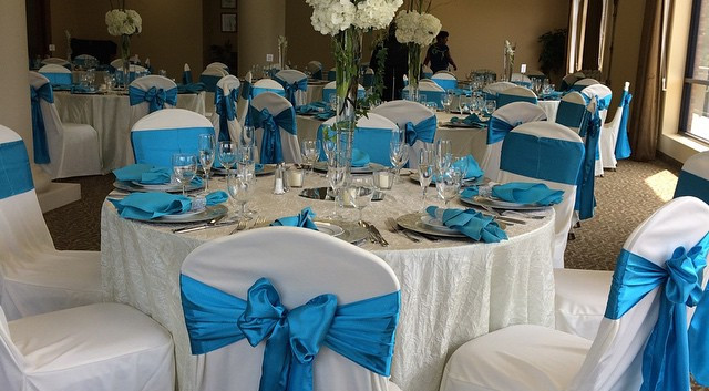 #turquoiseweddings, #beseatedchaircovers