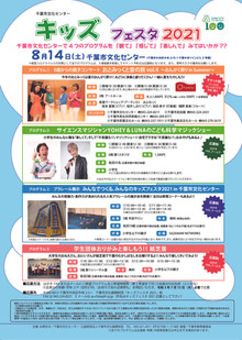 【コンサート】キッズフェスタ@千葉市文化センター