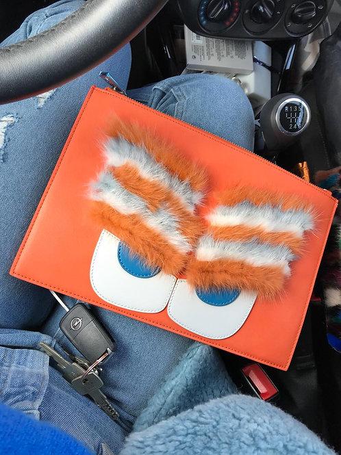 Mr eyebrows orange