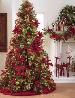 Red and Green Tree