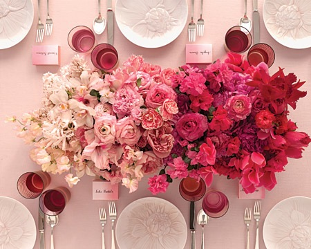 Lovely Pinks and Reds