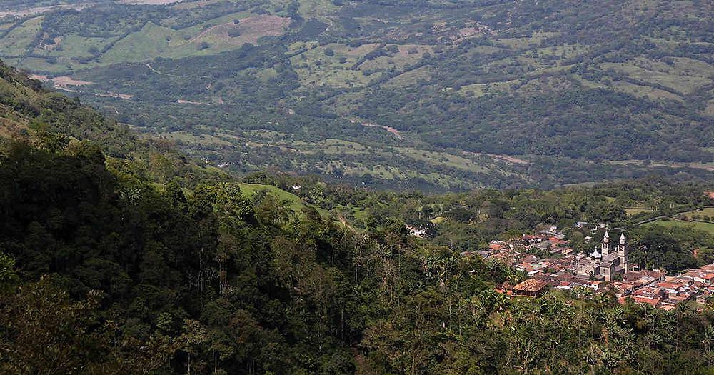 Algunas comunidades de Jericó se oponen al proyecto minero de AngloGold Ashanti. Foto: Archivo Semana