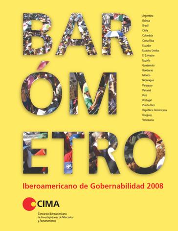 Barómetro de Gobernabilidad 2008