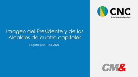 Imagen del Presidente y de los Alcaldes de Cuatro Capitales