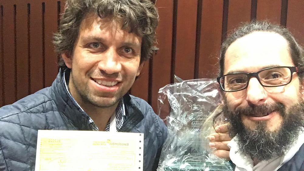 Pablo Lemoine y Fabricio Alarcón