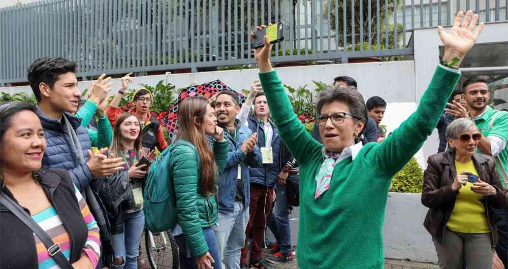 Según la última del Centro Nacional de Consultoría, ella lidera la intención de voto en Bogotá con un 22 por ciento