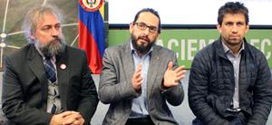 Carlos Lemoine, Fabricio Alarcón, Pablo Lemoine
