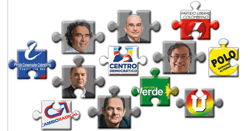 Así están los cálculos de las alianzas para las presidenciales