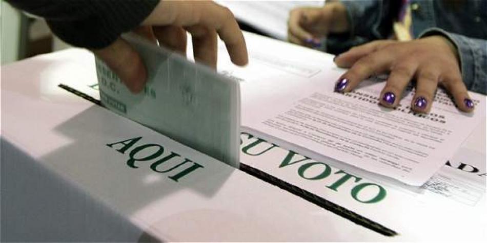 encuesta sobre intención de voto para Alcaldía de Bogotá