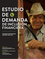Estudio de demanda de inclusión financiera