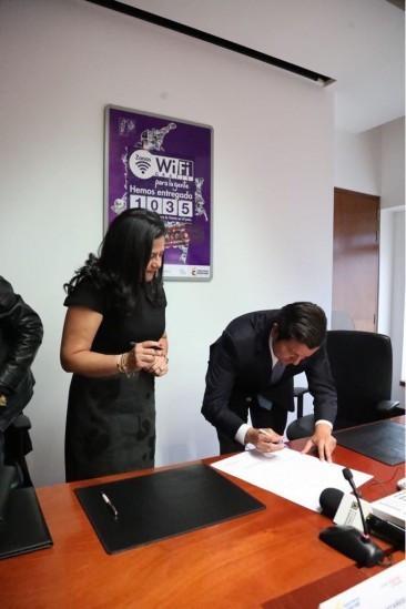 Se firma pacto entre la Personería de Bogotá y Ministerio TIC por el Teletrabajo