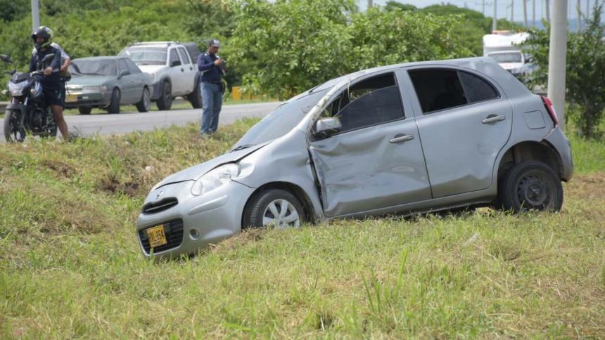 Un 36% de accidentes ocurridos en 2018 en Barranquilla estuvo relacionado con vehículos livianos
