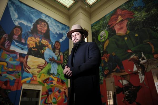 Henry García, el rostro detrás de las bibliotecas para la paz