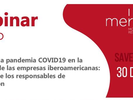 El Impacto de la pandemia COVID19 en la reputación de las empresas iberoamericanas