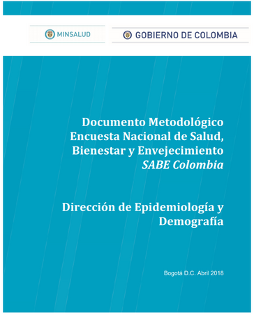 Encuesta Nacional de Salud, Bienestar y Envejecimiento SABE Colombia
