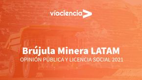 Chile, entre los países de la región, es el que tiene el mejor índice de aceptación de la minería
