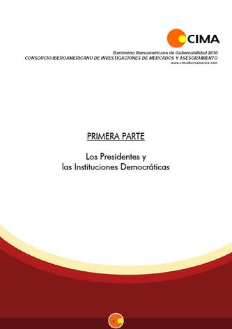 Barómetro de Gobernabilidad 2010