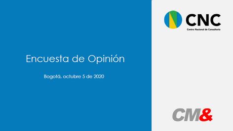 Encuesta de Opinión Pública 05-10-2020