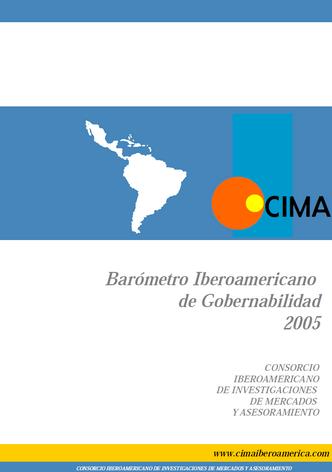 Barometro de Gobernabilidad 2005