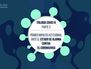 Trilogía Covid19 Parte 3 - Primer Impacto Actitudinal ante el estado de alarma contra el Coronavirus