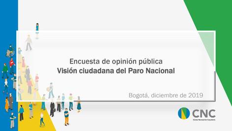 Visión Ciudadana del Paro Nacional
