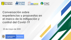 Conversación sobre experiencias y propuestas en el marco de la mitigación y control del Covid-19