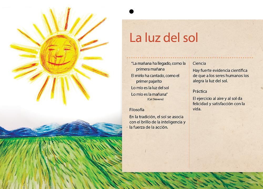 La luz de sol