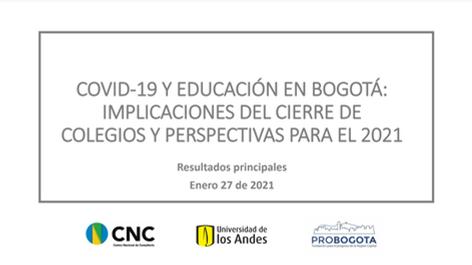 Covid-19 y Educación en Bogotá