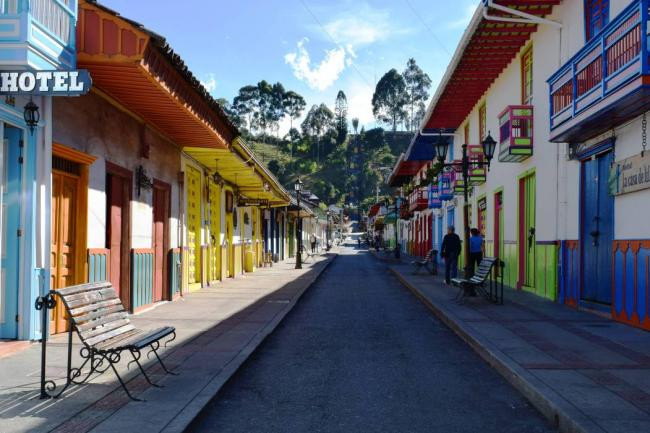 Colombia uno de los países más felices