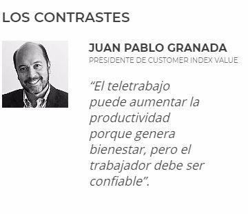 Juan Pablo Granada  - Opinión sobre Teletrabajo en Colombia