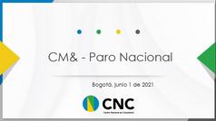 Encuesta : CM& - Paro Nacional