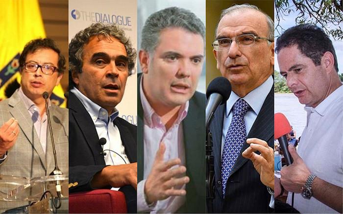 Candidatos Presidenciales 2018