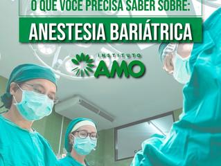 O que você precisa saber sobre a anestesia bariátrica