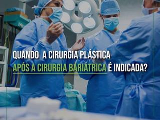 Quando a cirurgia plástica após a cirurgia bariátrica é indicada?