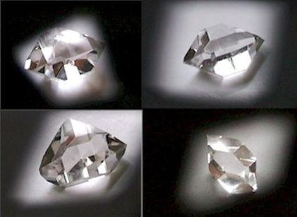 Herkimer-Diamanten (Quarzkristalle) in Top-Qualität