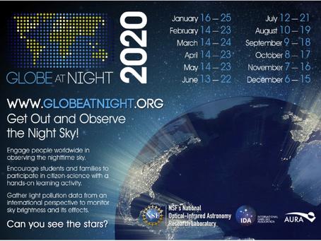 Sterne zählen für die Wissenschaft - Das Globe at Night Projekt  Jeder kann mitmachen!