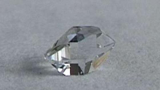 Herkimer Natur-Juwel, 8mm
