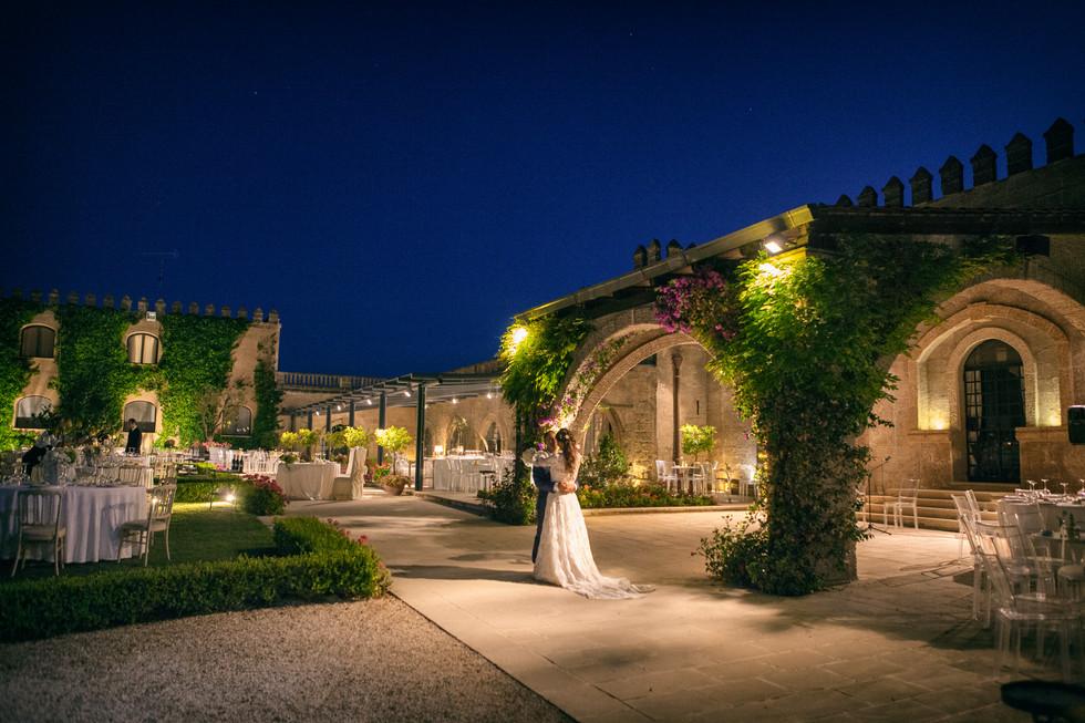 Castello Monaci per il wedding, San Pancrazio, Lecce, Salento.