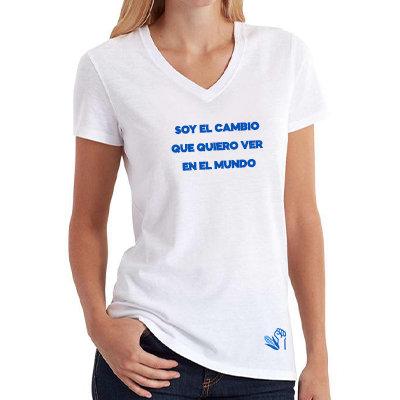 Camiseta - Soy el cambio