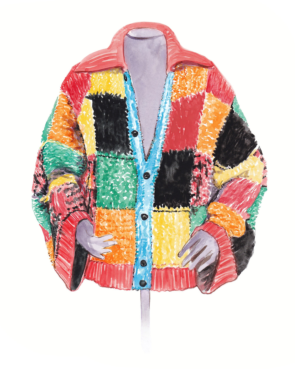The JW Anderson cardigan styled by Harry Styles is now part of the permanent collection of the V&A