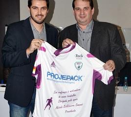 Projepack reforça engajamento social com apoio ao futsal